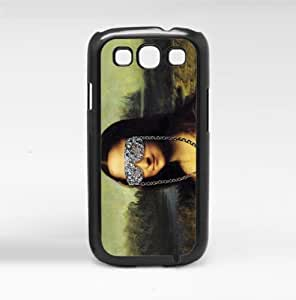 Cool Mona Lisa Hard Snap On Case (Galaxy S3 III)