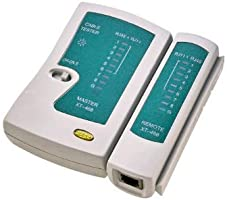 Comprobador de cables de red LAN, Ethernet RJ45, RJ11, N21CL (Cat5, Cat6)