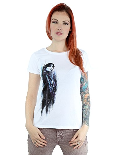 Star Wars mujer Rogue One Jyn Brushed Camiseta Blanco
