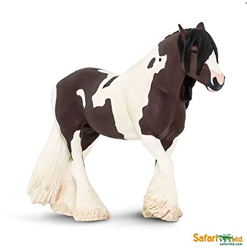 Circle Horse - Safari Ltd. Winner's Circle Horses - Tinker - Phthalate, Lead and BPA Free - For Ages 3+