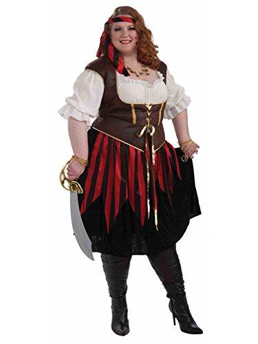 (Forum Novelties Women's Pirate Lady Costume, Multi,)