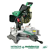 Hitachi C12FDH 15 Amp 12-Inch Dual Bevel Miter Saw with Laser  (Discontinued by...