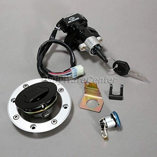- Transport-Accessories - Motorcycle Ignition Key Switch Lock+ Fuel Gas Cap+ Keys for Suzuki SV650 99-02 Vstorm 1000 DL1000 02-09 Pit Bike Motorbike Parts