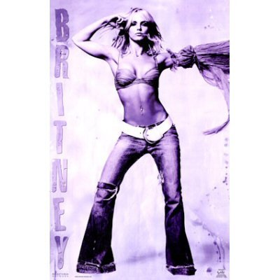 Britney Spears Poster Hot Sexy Shot Rare New