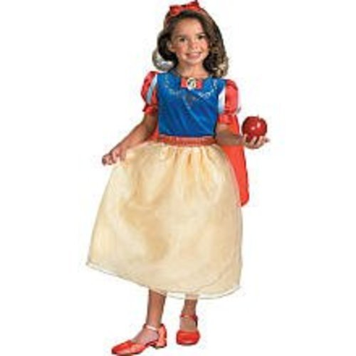 Snow White Dlx Child 7-8 (7 Dwarfs Costume)