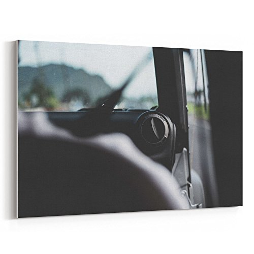 Westlake Art - Passenger Window - 24x36 Canvas Print Wall Ar