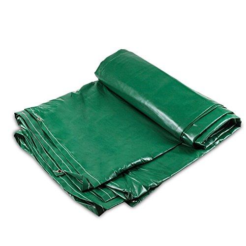 延ばすデモンストレーションフレキシブルJIANFEI オーニング 防水 耐寒性耐熱ウインドシールド耐摩耗性PVCカスタマイズ可能 (色 : Green, サイズ さいず : 5.8x7.8m)