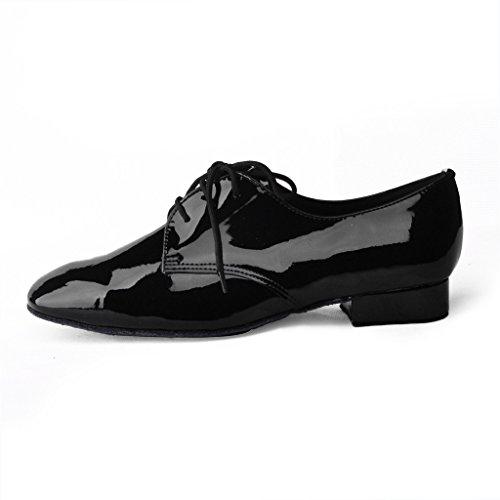 Jig Foo Zapatillas de Baile Estándar Para Hombre, Color Negro, Talla 41 EU