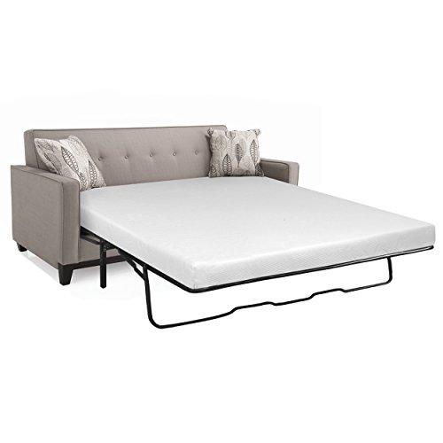 Serenia Sleep 4-1/2-Inch Memory Foam Sleep Sofa Mattress, Queen
