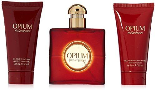 Yves Saint Laurent Opium Women 3 Piece - By Opium Laurent Gel Yves Saint Shower
