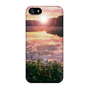 Faddish For Ipod Touch 4 Phone Case Cover Sunset At Lake For Ipod Touch 4 Phone Case Cover Perfect