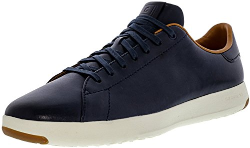 Cole Haan Men's Grandpro Tennis Fashion Sneaker, Blazer Blue Hand Stain, 11 M US
