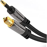 KabelDirekt (25 feet) Mini TOSLINK Optical Digital Audio Cable - PRO Series
