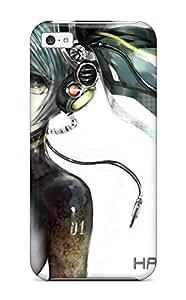 Case Cover Vocaloid Hatsune Miku Hair Headphones Anime Girl/ Fashionable Case For Ipad Mini/mini 2