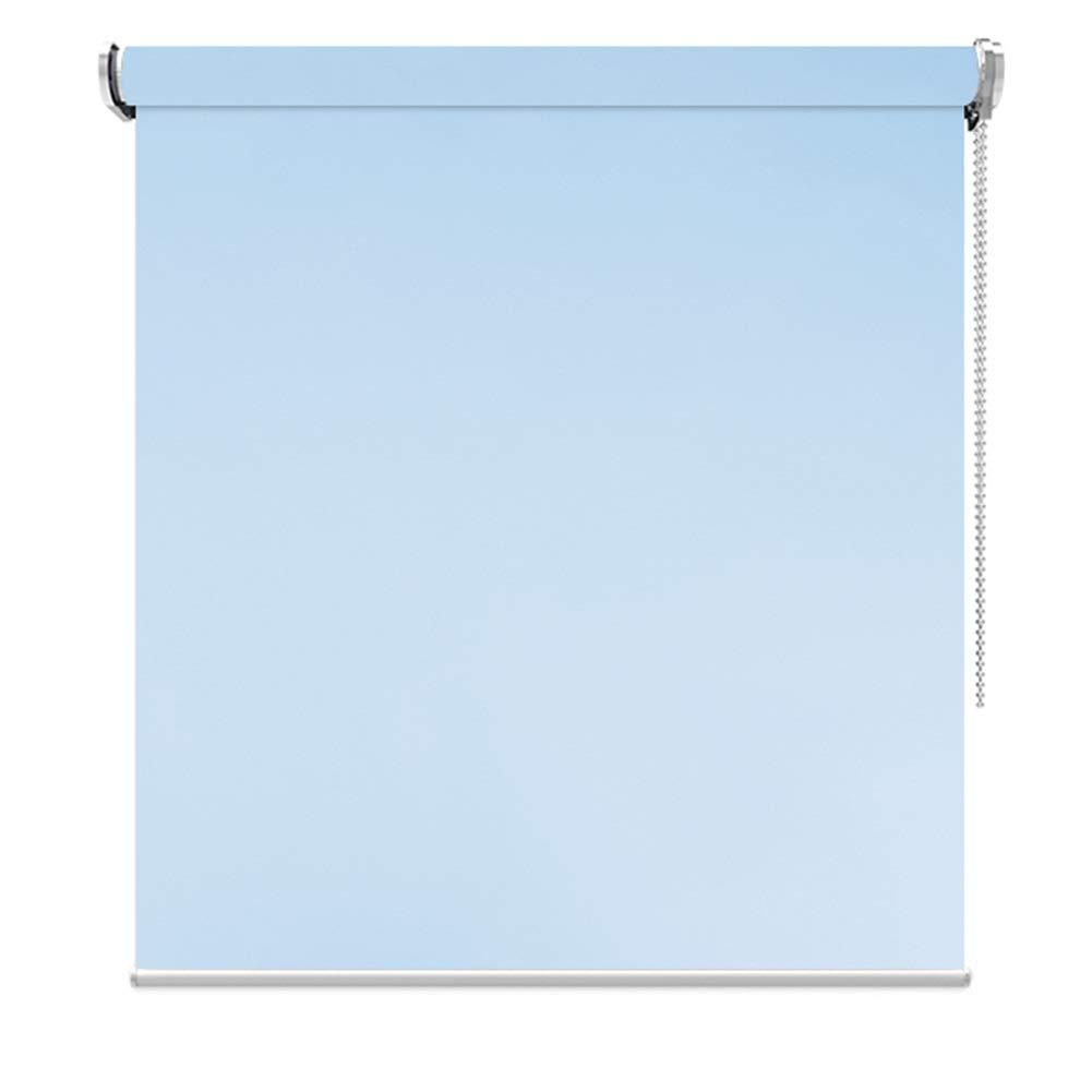 竹製ブラインド 窓/ドア用遮光ブラインド100%、日光カットポリエステル日除け、穴あけなし、青、幅45-140cm、高80-200cm (Size : 80x200cm) 80x200cm  B07SX7XB5Z