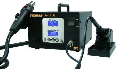 Tenma 21-10130 2-in-1 Intelligent SMD Rework Station by Tenma