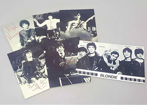 - Blondie Collectibles 6 Postcard Set Debbie Harry Original 1979 Official Fan Club 70's Memorabilia Picture Cards Concert Tour Fan Club