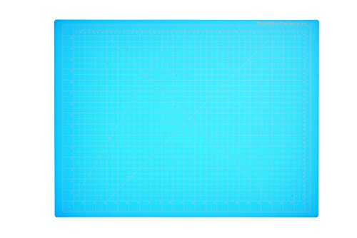 Dahle 10692 Vantage Self-Healing Cutting Mat,  18' x 24',  Blue, 5 layer PVC Construction, 1/2' Grid Lines, Self Healing for Maximum Durability, Perfect for Cropping Photos, Cutting, Sewing, and Crafts