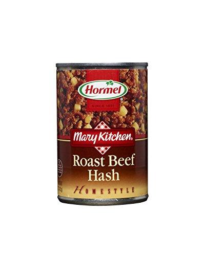 Hormel Roast Beef Hash, 15-Ounce (Pack of 6) (Roast Beef Deli Meat)