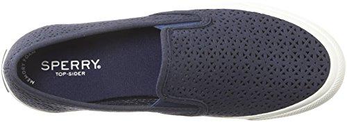 Sperry Top-sider Damessandress Marine Nautical Perf Sneaker Marine