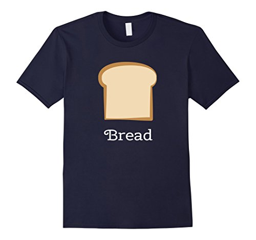Mens Bread Group Costume Tees - Bread and Butter 3XL (Halloween Bread Costume)