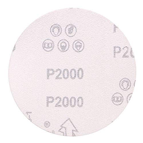 CynKen 32 Pieces 225mm 9 Inch 40-2000 Grit Sandpaper Sand Discs Sanding Polishing Pad Each Grit 2 Pieces 6 Holes
