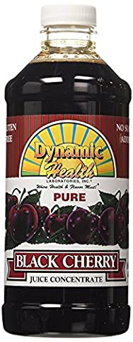 Dynamic Health Black Cherry Concentrate - 16 oz (Pack of 3) - Health And Beauty