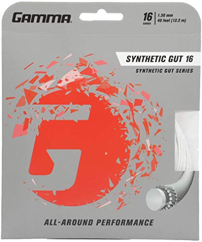 Gamma Synthetic Gut 16G Tennis String, ()