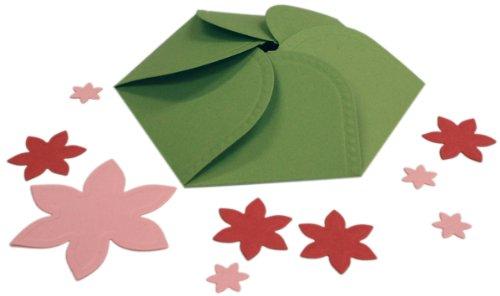 Spellbinders Grand Shapeabilities Templates: Hexagon Petal Envelope