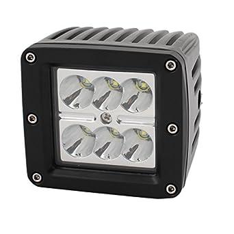 eDealMax 18W A-lámpara de Trabajo de bulbo 18W DC 10V-30V 6 LED