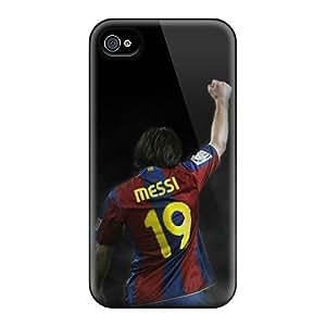 Bumper Hard Phone Covers For Iphone 6 (fFl16851IIxX) Unique Design Fashion Messi Series