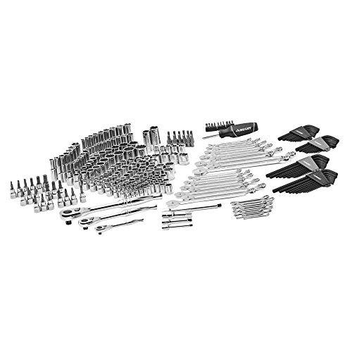 NEW Husky Mechanics Tool Set Kit, New 268 Piece Case, Chromium Steel Tools ()
