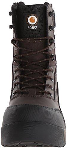 Carhartt Mens 8 Force BRN CMP Toe-m Brown Coated Leather bm9oNm