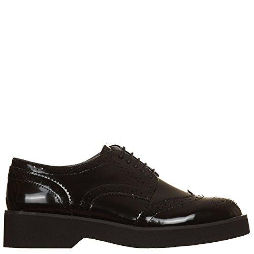 Chaussures Femme pour de Noir EU Ville Lacets 36 CafèNoir à Noir Noir SgBYw