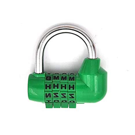 9eb1251cb50f BIN BON - 4 Dial Digit Letter Combination Travel Security Code Lock ...