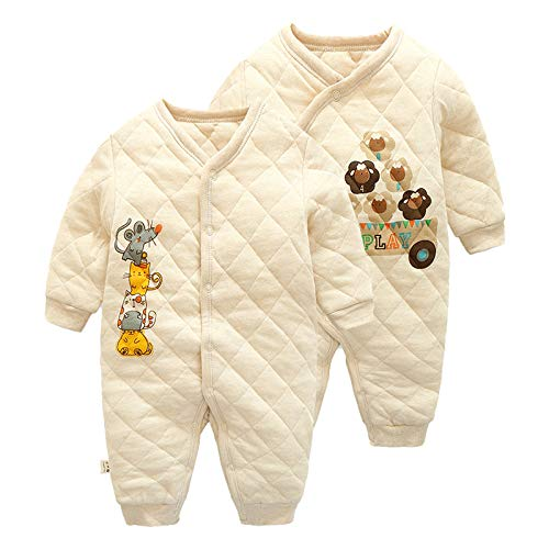 New Thick-Seated Baby Cotton Coat, Colored Cotton Robes, Baby Onesies, Newborn Rompers, Jumpsuits 3