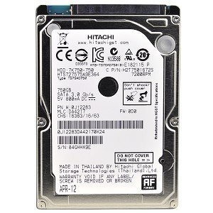 Hitachi Travelstar 7K750 HTS727575A9E364 750GB SATA/300 7200RPM 16MB 2.5
