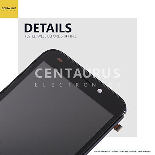 159285a92ced26 LCD Touch For ZTE Avid Trio Z833/ZFive 2 Z836BL Z837VL 5.0 inch Assembly  Frame