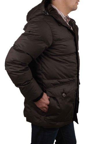 Piumino Uomo Parka Marrone Invernale Napapijri rif50 Giacca qSnUtF