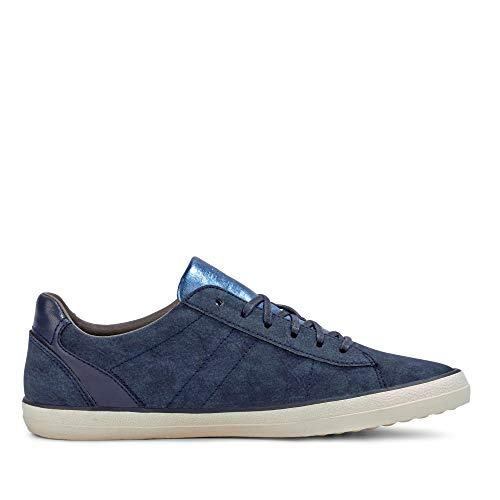 Lace Up Femme Sneakers Miana Bleu Basses Esprit 7nw6vxZ5