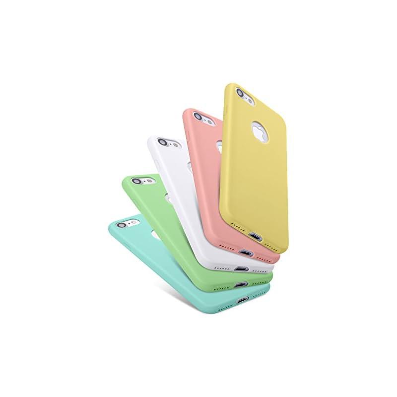 Pofesun 5 Pack Silicone Gel Rubber Case