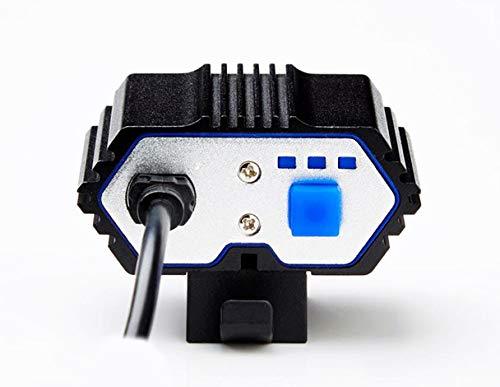 Heligen 6000LM 2 X XM-L T6 LED USB L/ámpara a prueba de agua Bicicleta Bicicleta Headlight6000LM 2 X XM-L T6 LED USB L/ámpara a prueba de agua Bicicleta Bicicleta Linterna Producto
