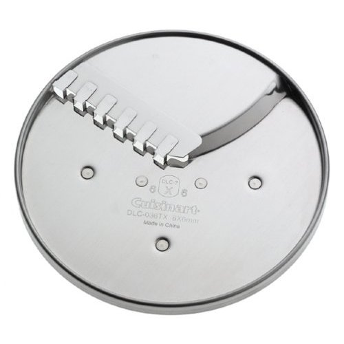 Cuisinart DLC-836 6-by-6mm Fruit, Vegetable and French Fry Disc Fits 7 and 11-Cup Processors