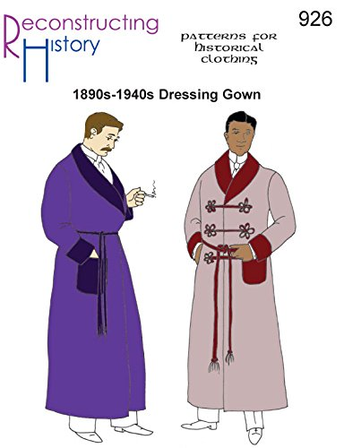 1880s-1940s Dressing Gown Pattern