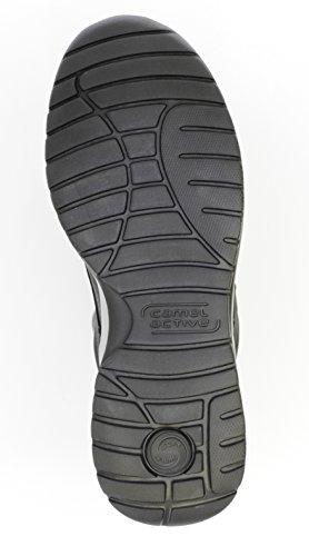 Chameau Hommes Actifs De La Lumière Du Soleil De Chaussures 11 Loisirs Et Chaussures De Voyage Aushochwertigem Nubuck Noir 523.11.06