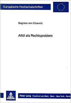 Book Altoel ALS Rechtsproblem (Europaeische Hochschulschriften / European University Studie)
