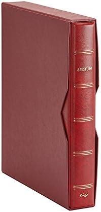 Pardo 127505 - Album para colección de artículos, color burdeos: Amazon.es: Oficina y papelería