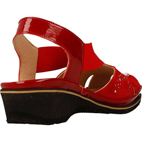 Scarpe Blu Per Donna Plaju Blu 70996 Colore Lacci Modello Donna Rosso rubino Marca 5vxTx4Uw