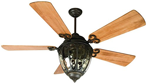Craftmade OV70AG Olivier Ceiling Fan with Blades Sold Separa