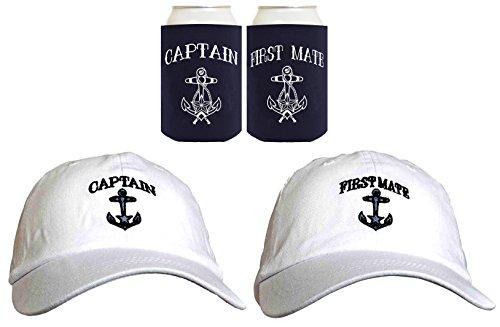 Sailing Captain Embroidered Coolies Coolers